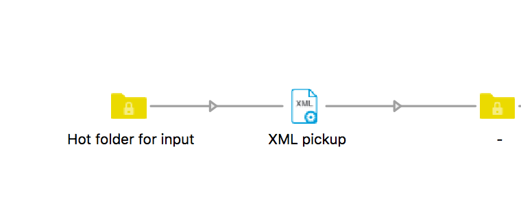 Enfocus Switch XML pickup element