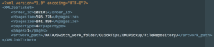 Enfocus Switch XML input sample