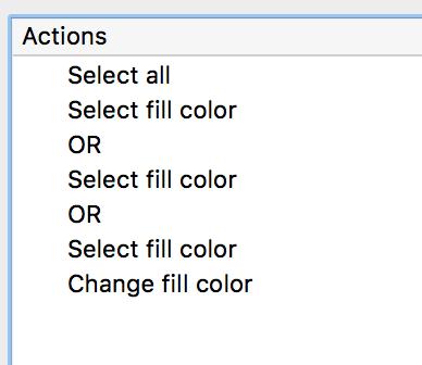 PitStop Pro custom Action List